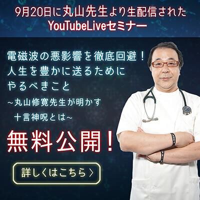 丸山先生第二回Liveセミナー動画公開